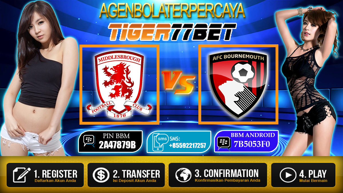 Prediksi Middlesbrough vs AFC Bournemouth 29 Oktober 2016