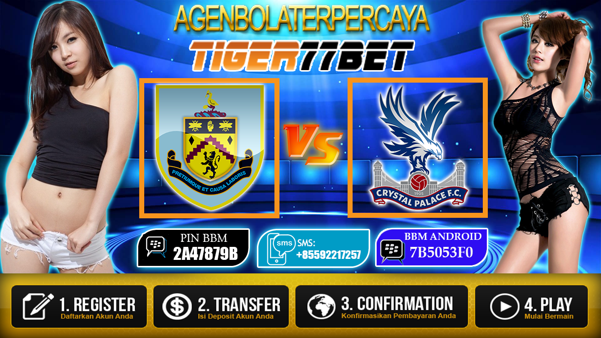 Prediksi Burnley vs Crystal Palace 05 November 2016